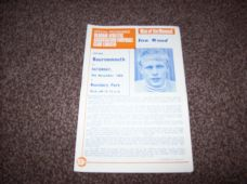 Oldham Athletic v Bournemouth, 1968/69 [nov]